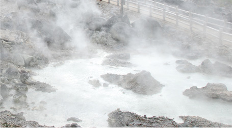 Spring quality and efficacy of the hot springs